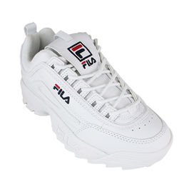 FILA DISRUPTOR II WHITE NAVY RED