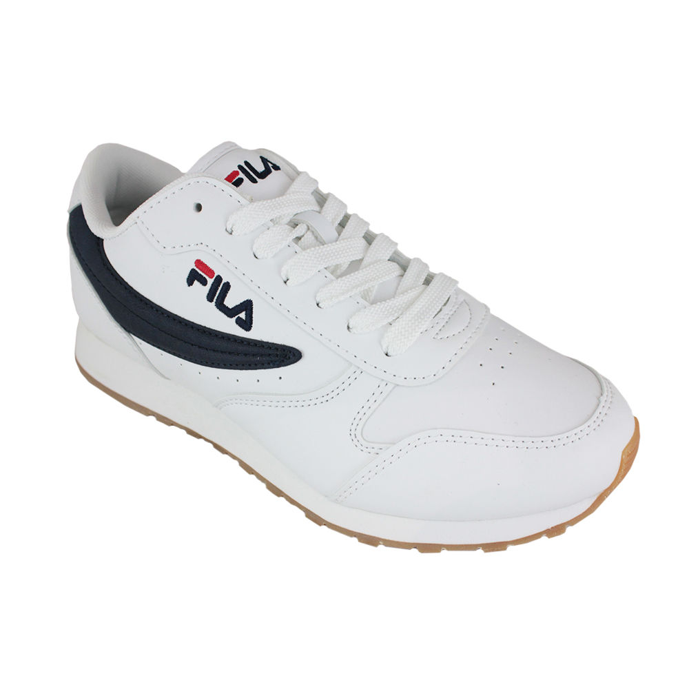 FILA ORBIT LOW WHITE/DRESS BLUE Blanco 40