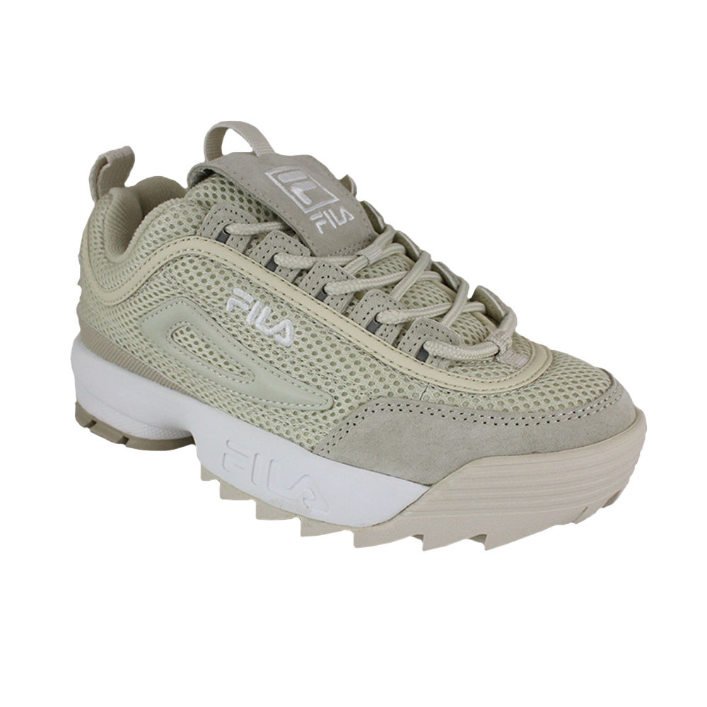 FILA DISRUPTOR MM LOW WMN ANTIQUE WHITE Beige 36